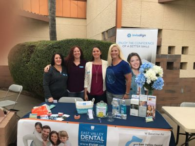 mesa dentist team