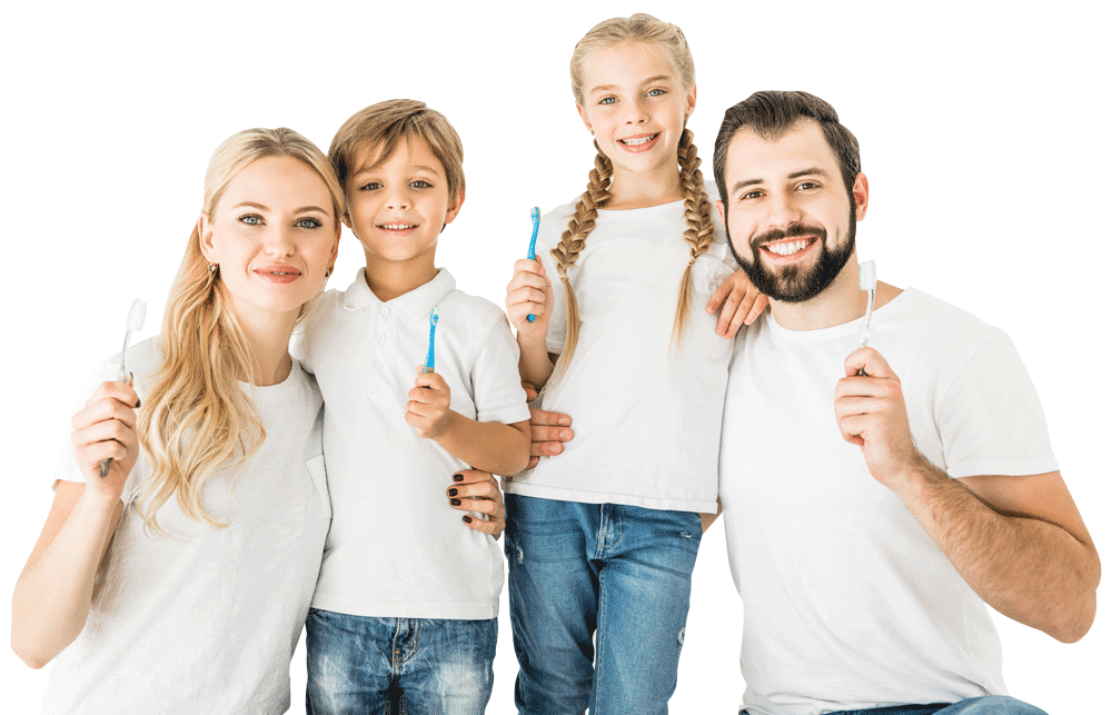 bigstock-Family-With-Toothbrushes-214849393
