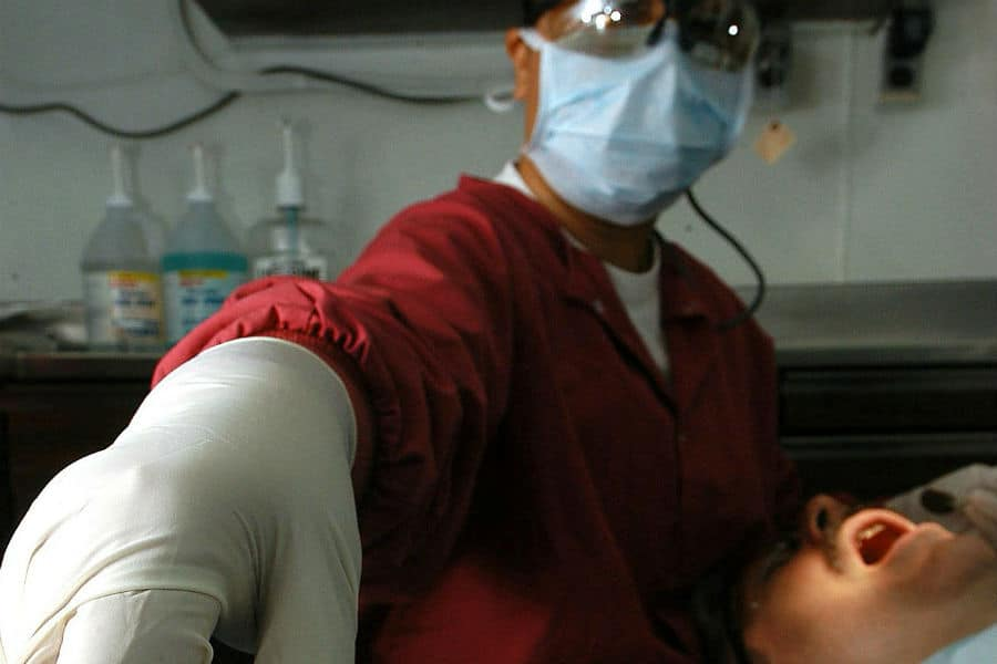 Root canal therapy photo